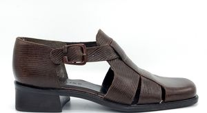 BANOLINO FAYE Close Toed Buckle Sandals size 8 M